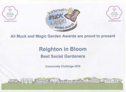 Reighton in Bloom Poster