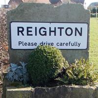 Reighton Road Sign