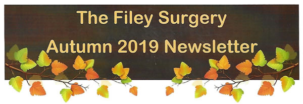 Filey Surgery Newletter - Autumn 2019