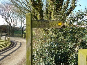 St Leonards Footpath Sign