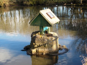 VE VJ 1995 Pond Wishing Well